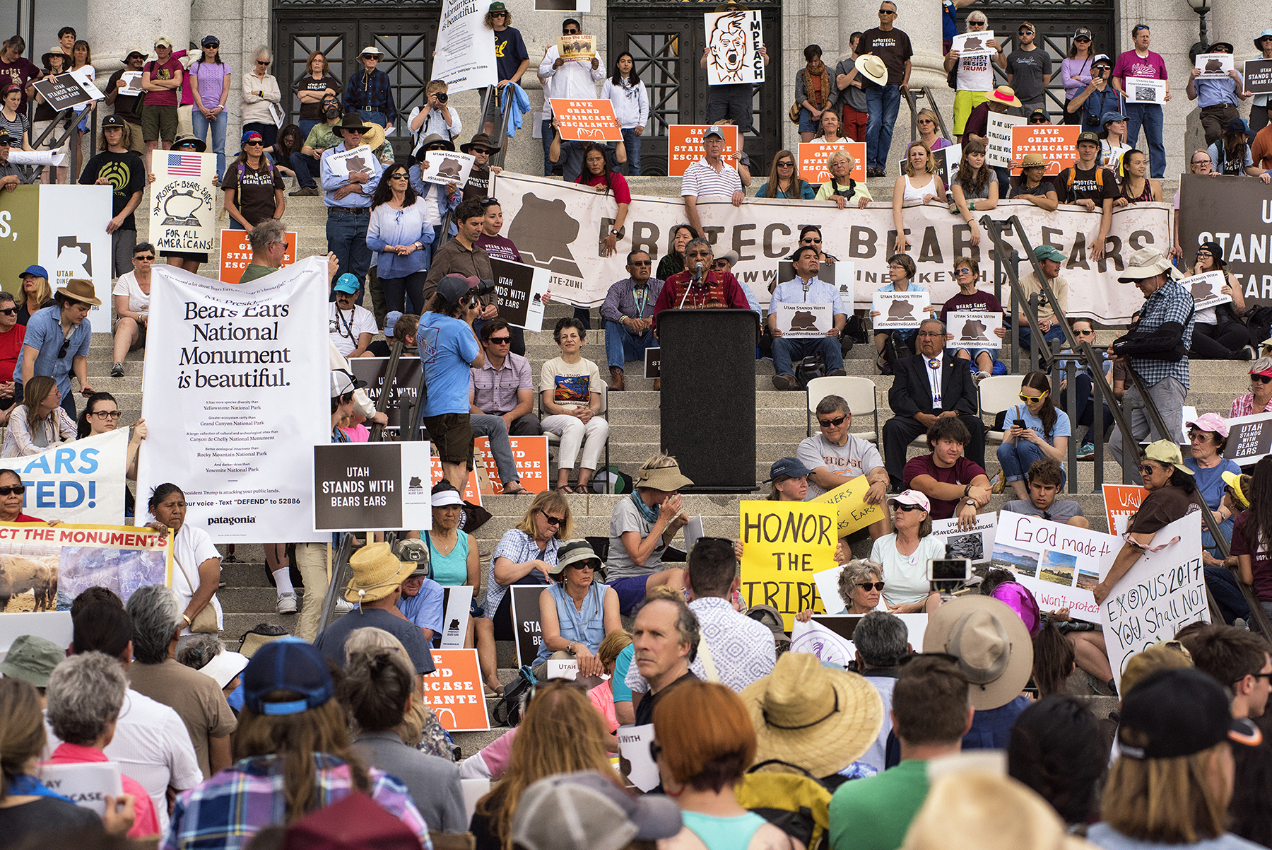 Protests over Bears Ears