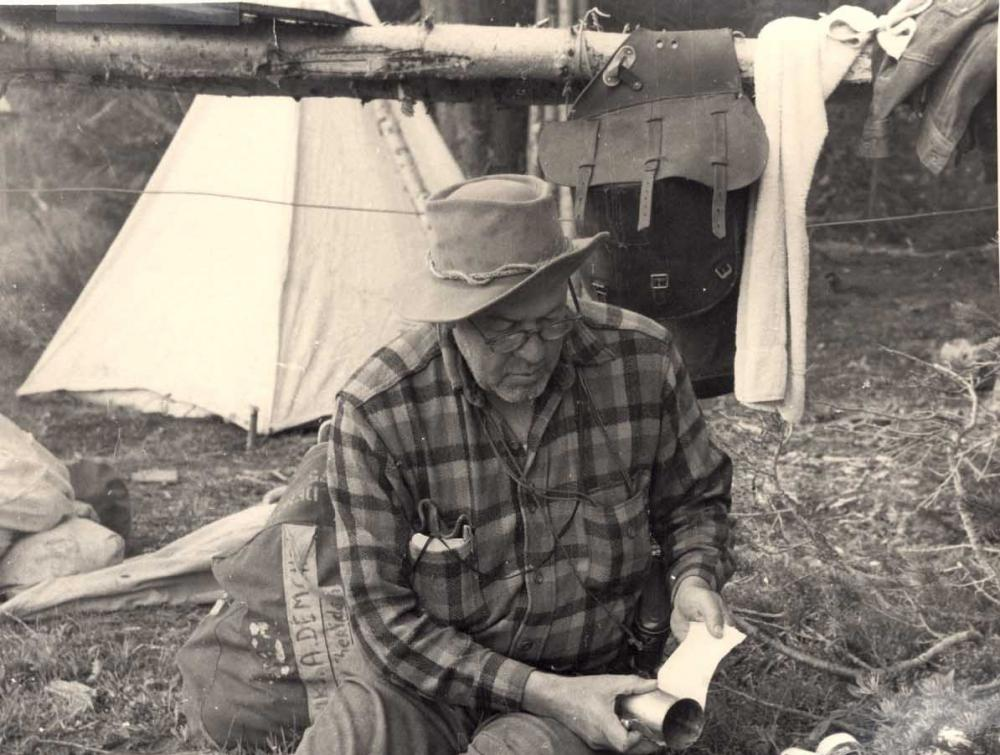 Howard Zahniser camping
