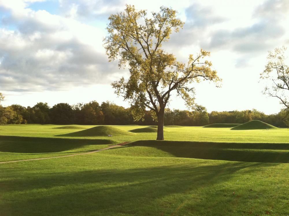 Mounds at Hopewell Culture National Historical Park, Ohio