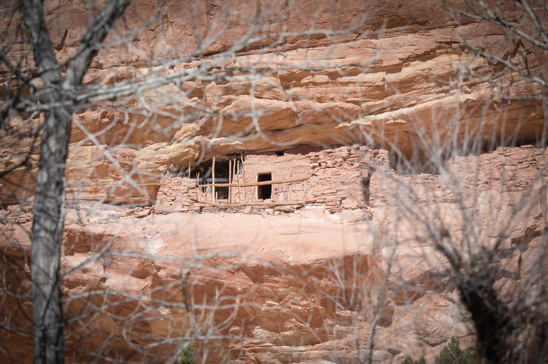 Ancestral Puebloan ruins in Bears Ears National Monument, Utah